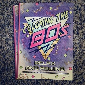 """""""Coloring the 80's"""" Coloring books!!"""